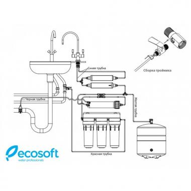 Ecosoft Standard с помпой MO550PECOSTD