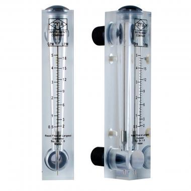 Ротаметр панельного типа FM 0,05-0,5 GPM (160 мм)