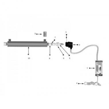 Viqua Sterilight  S5Q-PA-УФ-обеззараживатель