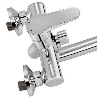 Смеситель для ванны Lidz (CRM) 14 34 006-1 New