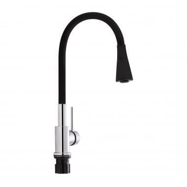Смеситель для кухни Qtap Spring CRB 007F-1 с рефлекторным изливом