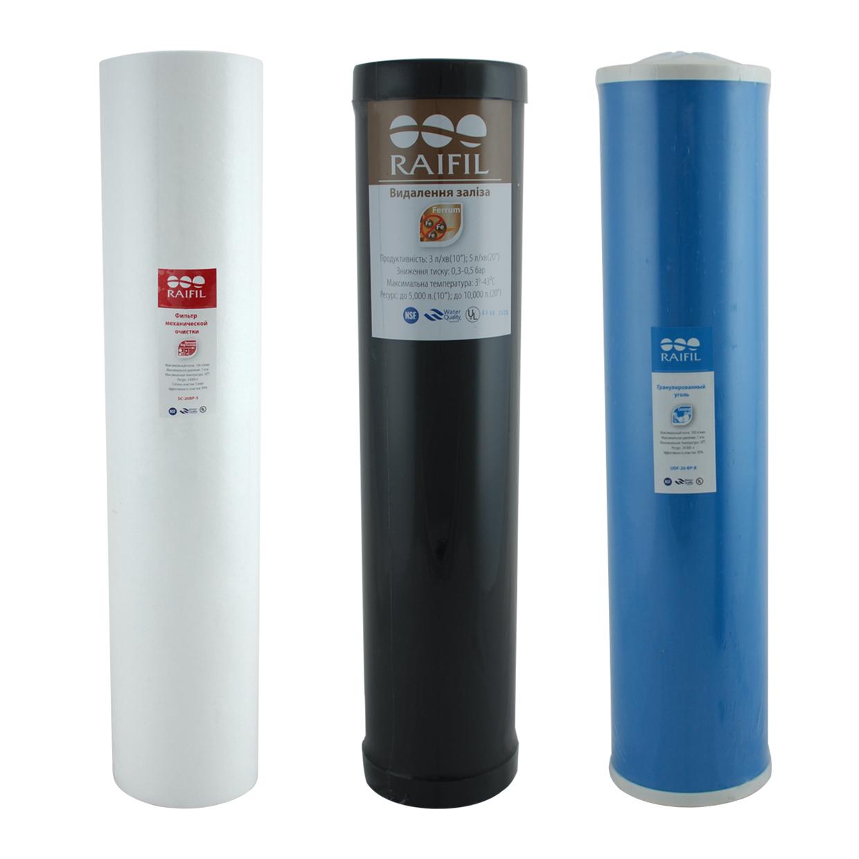 Картриджи для очистки воды от железа